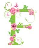розы письма f Стоковые Изображения RF
