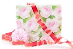розы подарка коробки Стоковые Фото