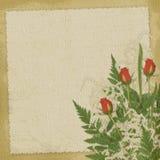розы праздника карточки abst Стоковые Изображения