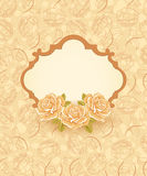 розы предпосылки флористические Стоковые Изображения RF
