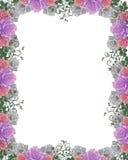розы приглашения граници wedding Стоковые Фото