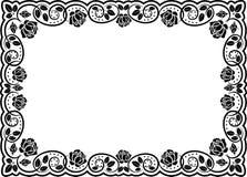 розы рамки иллюстрация вектора