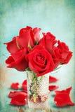розы цветка букета Стоковое Фото