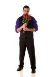 розы человека Стоковая Фотография RF