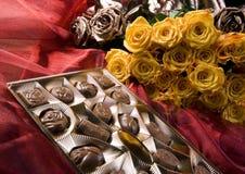 розы шоколада Стоковое фото RF