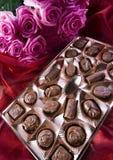 розы шоколада Стоковые Изображения
