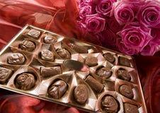 розы шоколада Стоковые Изображения RF