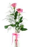 розы 1 подарка стоковая фотография