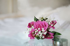 розы boutonniere Стоковое Фото