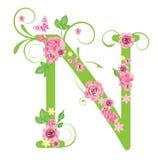 розы n письма Стоковые Фото