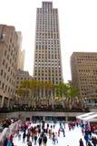 Рокефеллер разбивочное NYC Стоковая Фотография RF