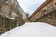 Рокируйте крепость в городе Выборга, России Стоковое фото RF