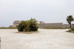 рокируйте мир unesco syracuse места Сицилии maniace наследия ii Италия frederick стоковое изображение