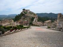 Рокируйте на Jativa, Валенсии y Мурсии, Испании Стоковое Изображение RF