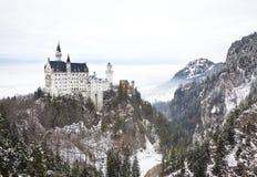 Замок Нойшванштайн в Германии Стоковое Изображение RF
