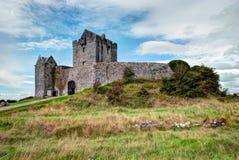 рокируйте dunguaire Ирландию Стоковое фото RF