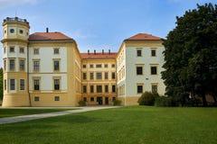 Рокируйте Straznice, южную Моравию, чехию стоковое фото