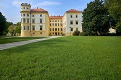 Рокируйте Straznice, южную Моравию, чехию стоковая фотография