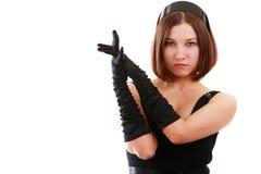 роковая девушка Стоковые Фото