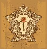 Рококо II рамки Стоковые Фото
