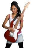 рок-звезда девушки Стоковое Изображение RF