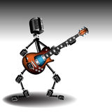 рок-звезда иллюстрация вектора