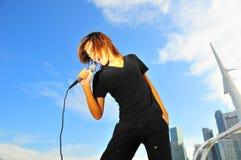 рок-звезда 22 Стоковые Фото