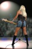 рок-звезда Стоковая Фотография