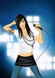рок-звезда повелительницы Стоковые Фото