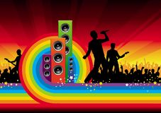 рок-звезды Стоковые Фотографии RF