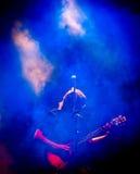Рок-концерт Стоковая Фотография
