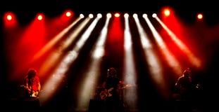 Рок-концерт Стоковое Фото