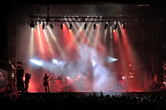Рок-концерт Стоковые Изображения RF