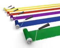 ролики краски Стоковое Изображение