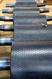 ролики плавильни промышленные Стоковые Изображения RF