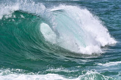 Ролик в океане Стоковые Фотографии RF