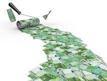 ролик евро щетки иллюстрация штока