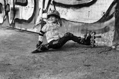 ролик мальчика Стоковые Фото