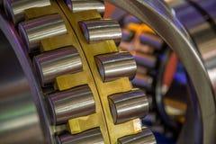 Ролик подшипника стальной промышленный Стоковая Фотография