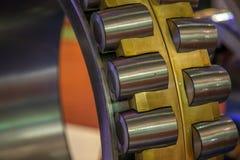 Ролик подшипника стальной промышленный Стоковые Изображения RF
