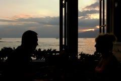 романское окно Стоковая Фотография