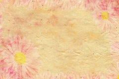 Романтичная бумага цветка Стоковые Изображения RF