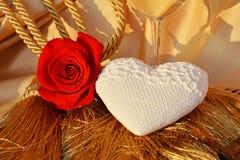 Романтичная винтажная концепция влюбленности Стоковое Фото