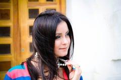 Романтичная девушка Стоковые Изображения RF