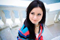 Романтичная девушка Стоковая Фотография