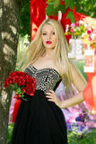Романтичная девушка Стоковое фото RF