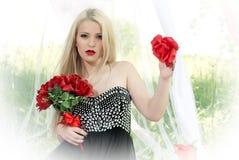 Романтичная девушка Стоковая Фотография RF