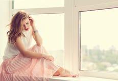 Романтичная девушка Стоковое Изображение