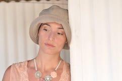 романтичная женщина стоковая фотография rf