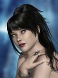 романтичная женщина стоковое изображение rf
